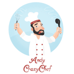 Andy Crazy Chef's logo