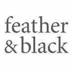 Feather & Black's logo