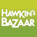 Hawkin's Bazaar's logo