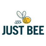 Just Bee Vitamin Honey's logo