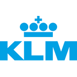 KLM's logo