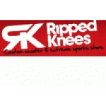 Ripped Knees Scooter Store's logo