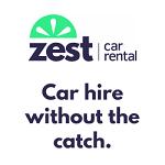 Zest Car Rental's logo