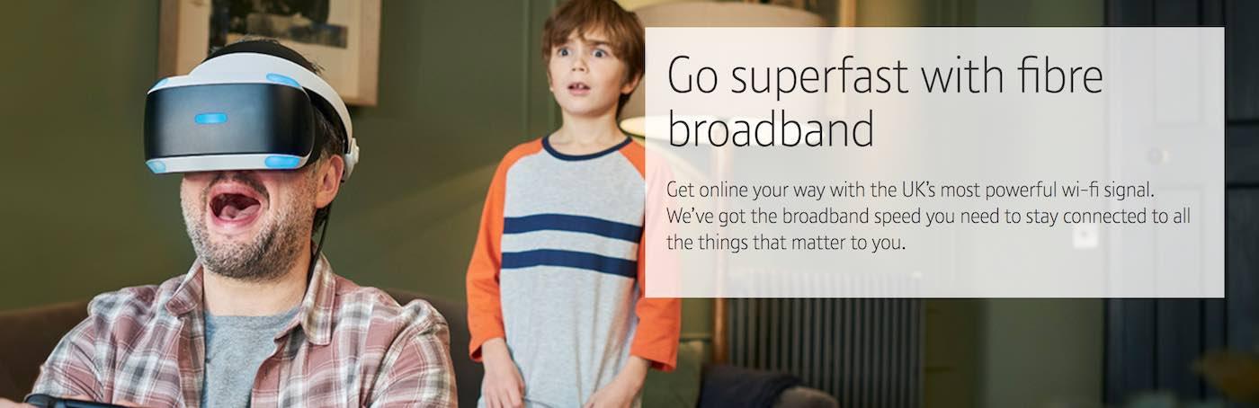 BT Broadband fibre