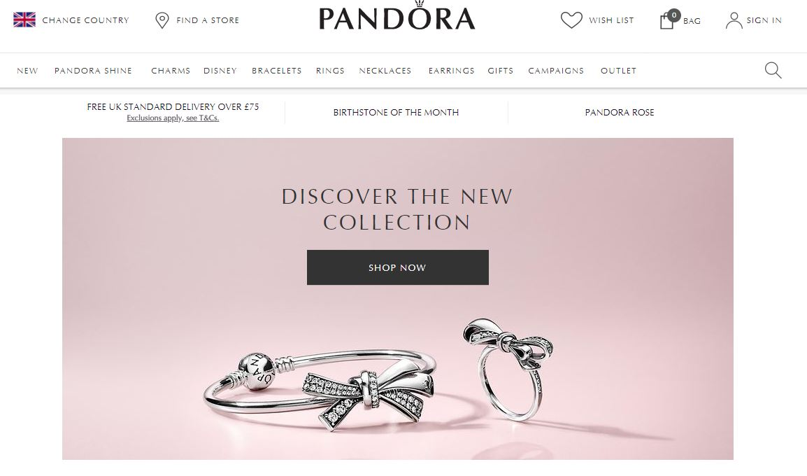 6bc871f10 Pandora Cashback, Voucher Codes & Discount Codes | Quidco