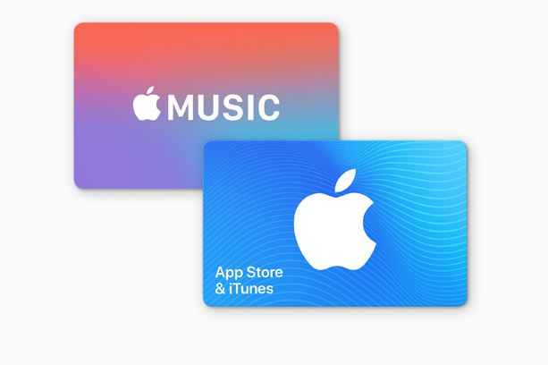 giftcards for itunes
