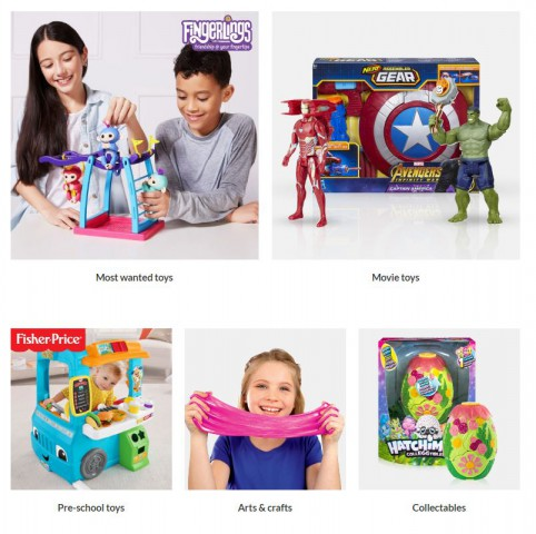 very cashback on toys