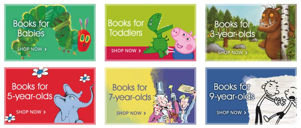 Children's books at Book People