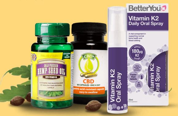 three vitamin supplements from holland and barrett