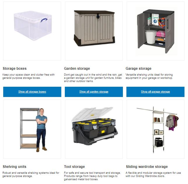 wickes storage solutions