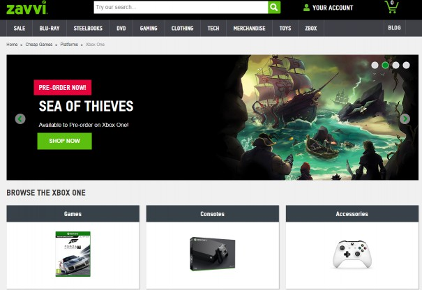 zavvi cashback on gaming