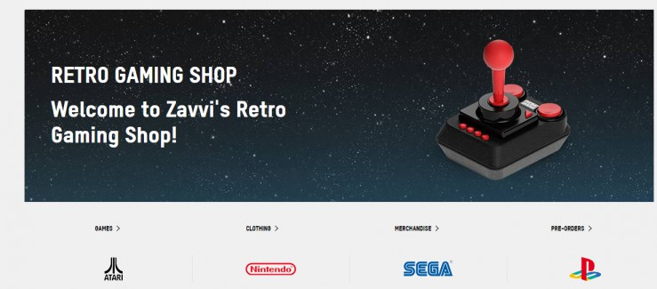 zavvi retro games