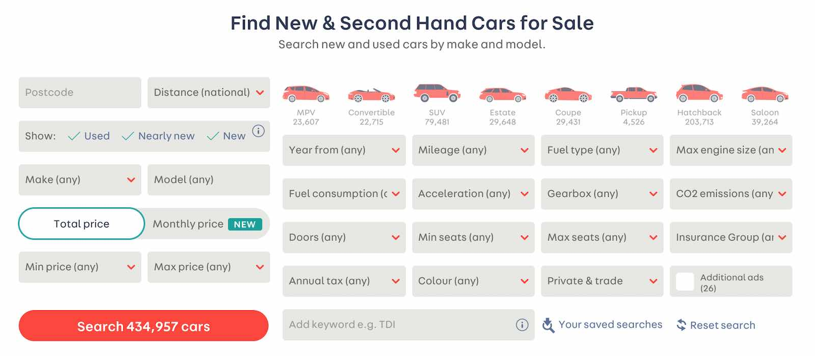 Buy cars on Autotrader