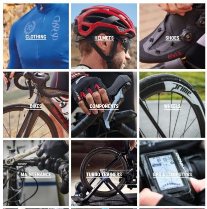 cashback on bikes, clothing helmets and more