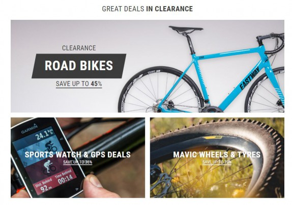 wiggle clearance offers