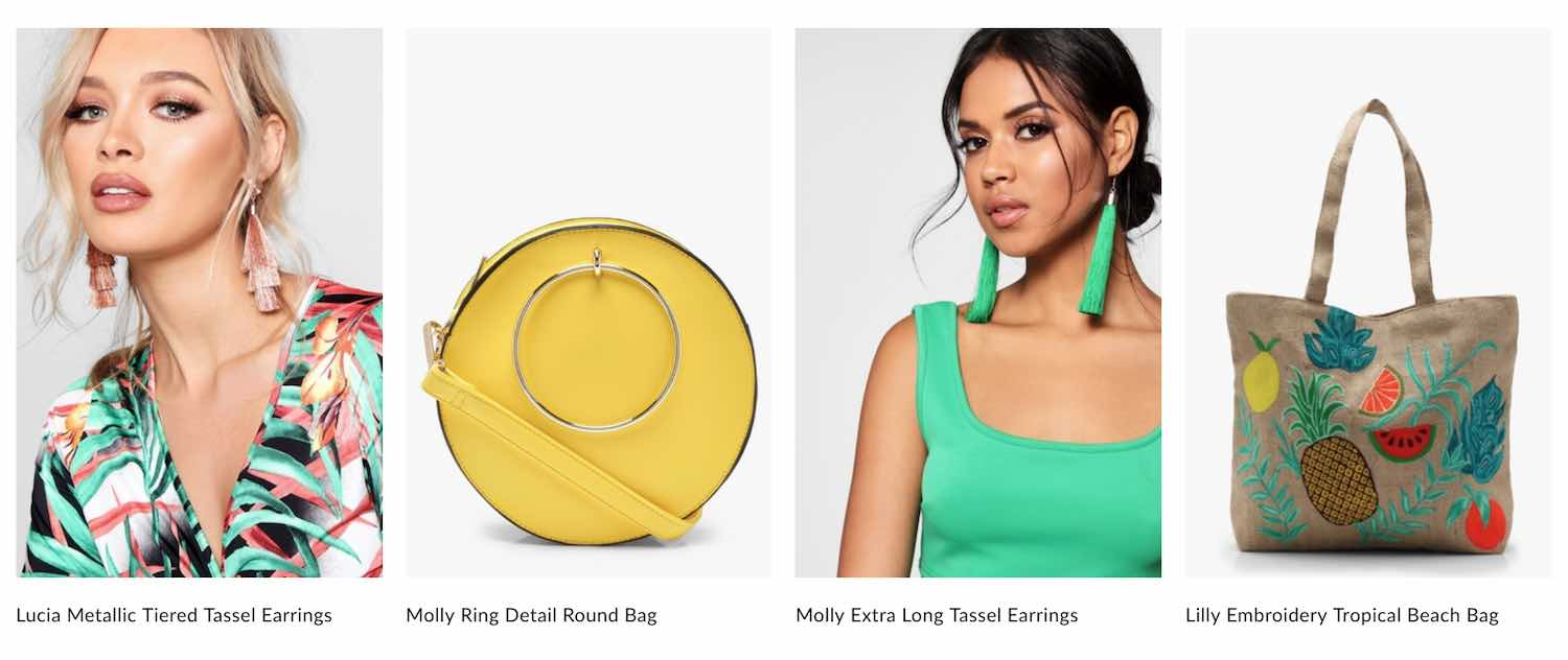 boohoo accessories