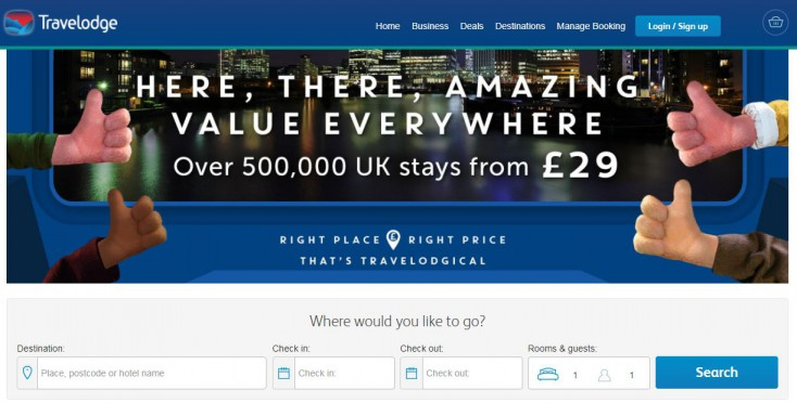 Travelodge cashback