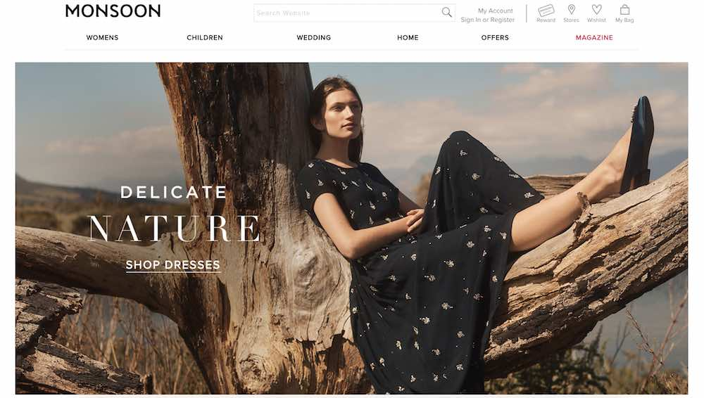 Monsoon website