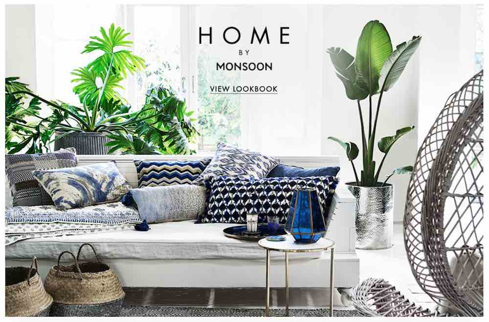Buy homeware at Monsoon