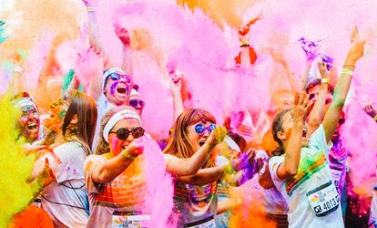 groupon colour run