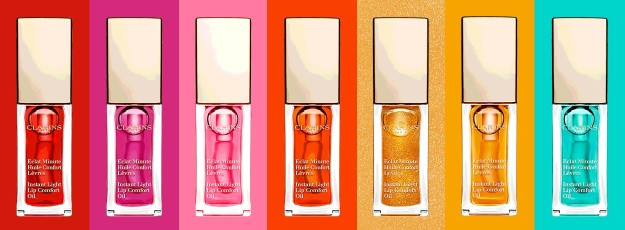 Clarins lip oil