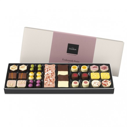 A box of hotel chocolat chocolates