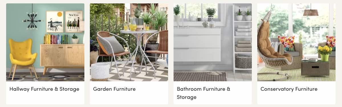 Furniture at Wayfair