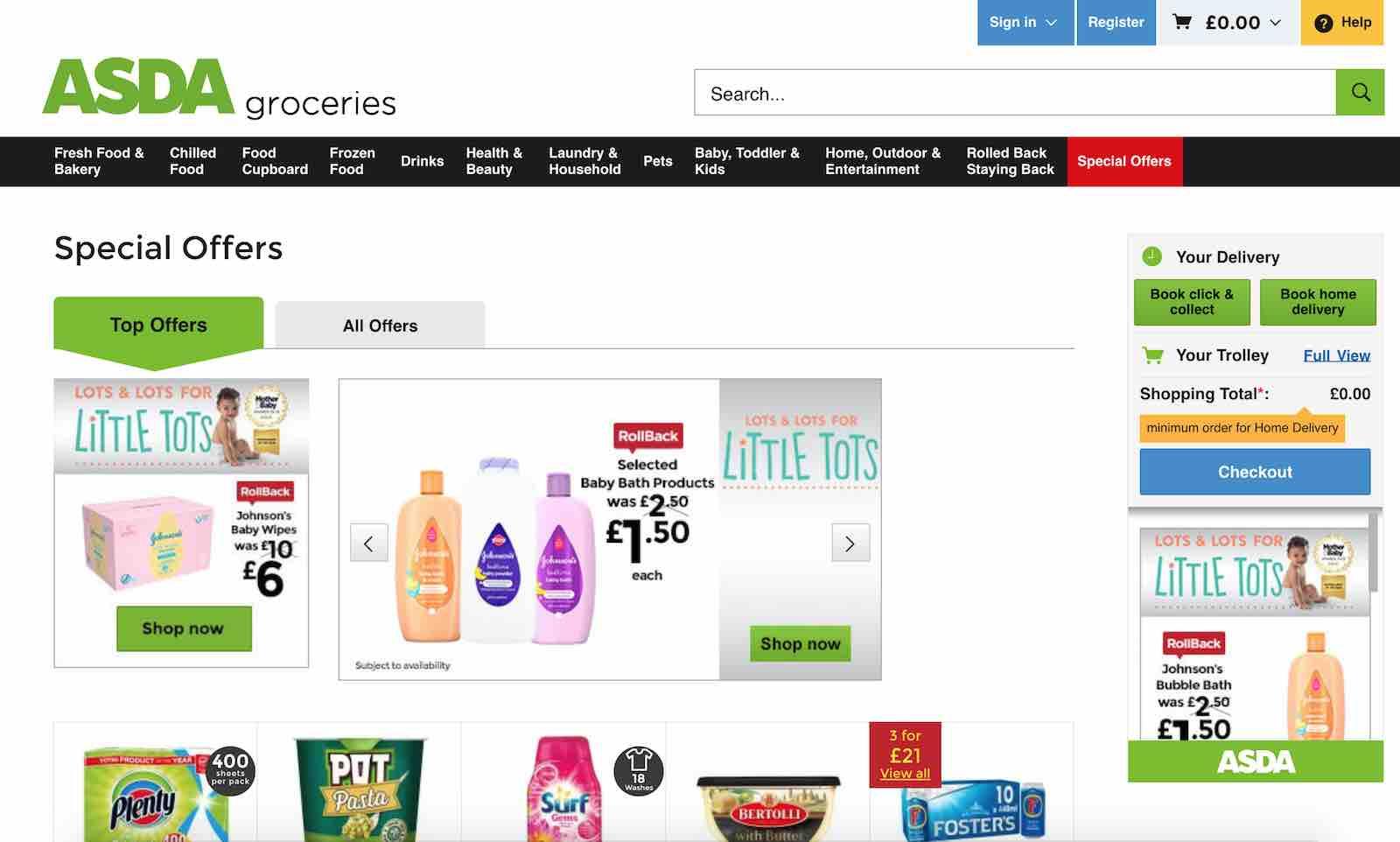 Asda Cashback, Voucher Codes & Discount Codes | Quidco
