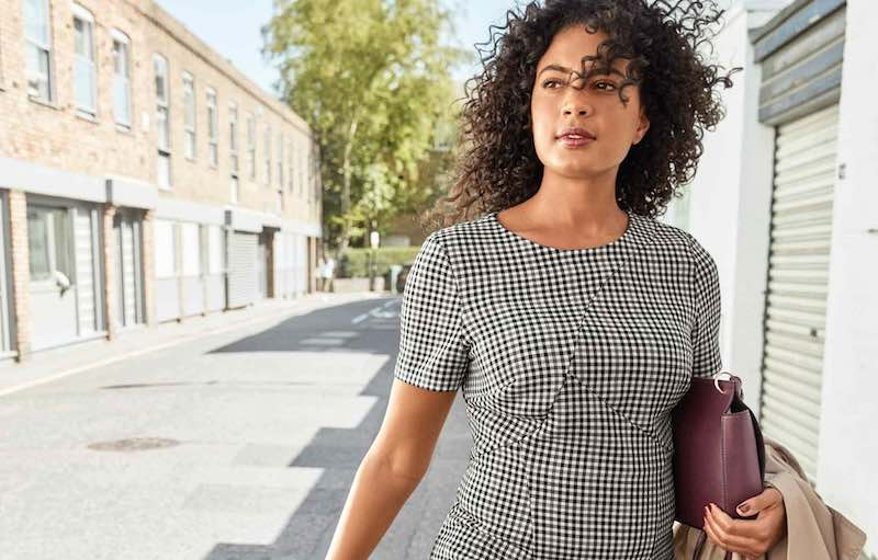 Women wearing Marks and Spencer's clothing