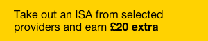£20 Bonus | ISA Season | Starts 30 March
